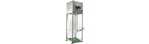 Stacionární nouzové sprchy